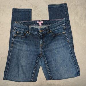 Lily Pulitzer | medium wash skinny jeans | 4
